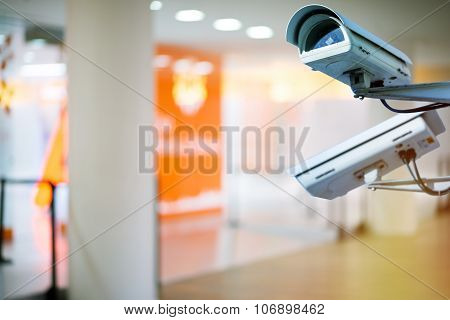 Security Camera And Urban Video Indoors