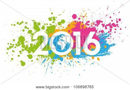 2016 Greeting Concept