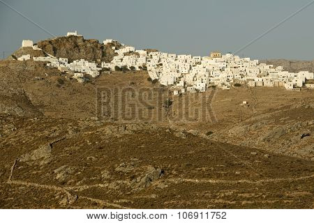 Serifos Island Town