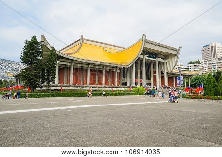 Sun Yat-sen Memorial Hall In Taipei, Taiwan