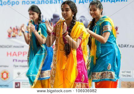 Indian Teens Danse