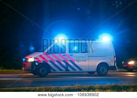 Dutch Police Car Lights