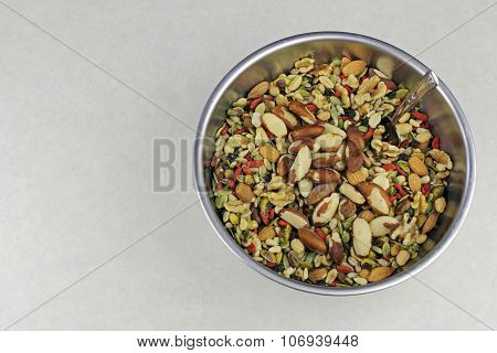 Gourmet Nuts, Seeds And Fruits