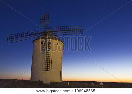 Sunrise In Castile, Spain