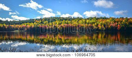 September on the lake.
