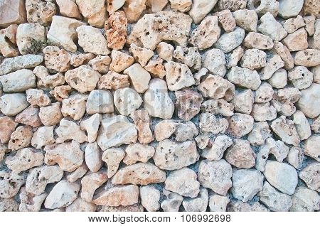 Drystone wall background texture