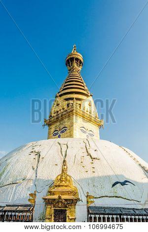 Swayambhunath or Monkey temple.