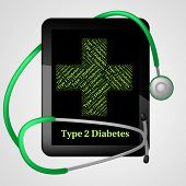 Illness Type Showing Adult Onset Diabetes And Metabolic Disorder poster