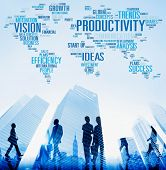 Productivity Vision Idea Efficiency Growth Success Solution Concept poster