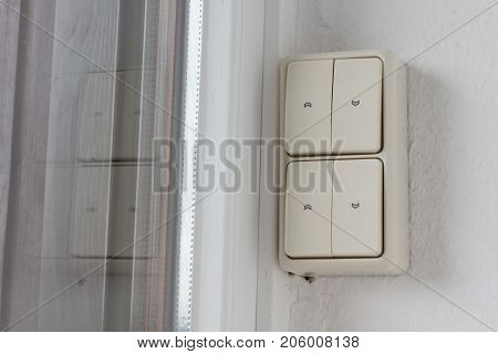 Button For Electric Shutters