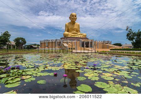 The Big Buddha of Uttayarn Maharach Project Ayutthaya Public domain