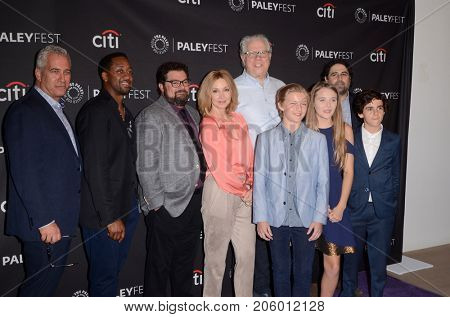 LOS ANGELES - SEP 12:  Me, Myself and I cast at the CBS - Me, Myself and I PaleyFest Fall Preview at the Paley Center for Media on September 12, 2017 in Beverly Hills, CA