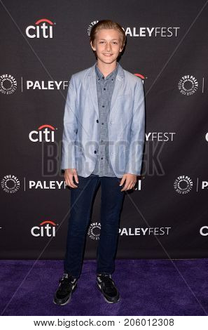 LOS ANGELES - SEP 12:  Christopher Paul Richards at the CBS - Me, Myself and I PaleyFest Fall Preview at the Paley Center for Media on September 12, 2017 in Beverly Hills, CA