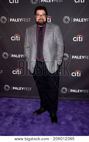LOS ANGELES - SEP 12:  Bobby Moynihan at the CBS - Me, Myself and I PaleyFest Fall Preview at the Paley Center for Media on September 12, 2017 in Beverly Hills, CA