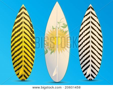 Surfboards Illustration