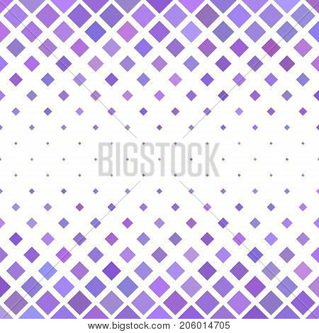 Abstract colored square pattern background - geometrical vector graphic from diagonal squares in purple tones