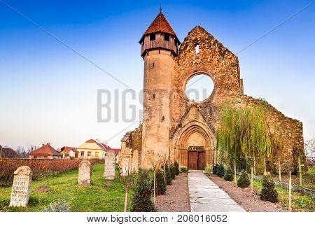 Carta Romania - Carta Monastery former Cistercian (Benedictine) religious architecture in Transylvania.