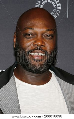 Peter Macon at the 11th Annual PaleyFest Fall TV Previews - Netflix's 'The Orville' held at the Paley Center for Media in Beverly Hills, USA on September 13, 2017.