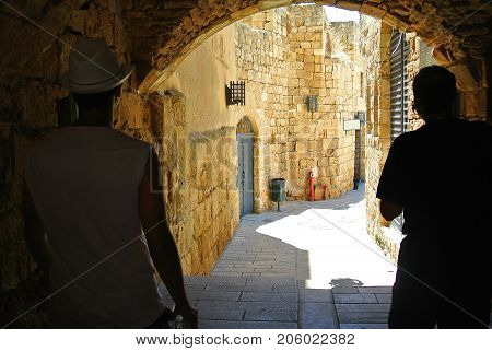 Akko. Israel. Ancient city in the Middle East