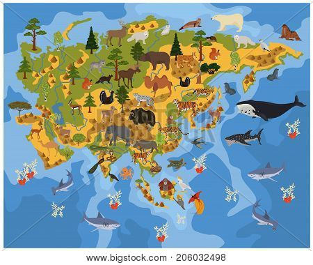 Geography Isometric Europe_1