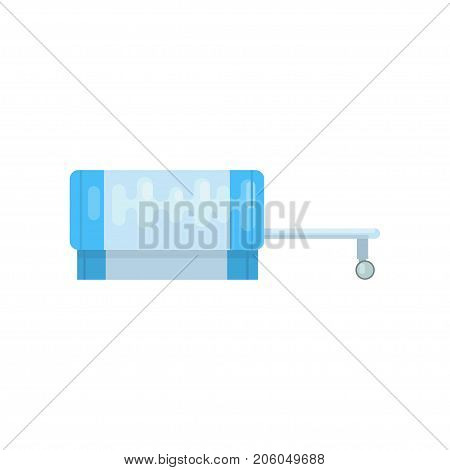 diagnostic machine, nuclear magnetic resonance imaging tomography equipment vector Illustration isolated on a white background