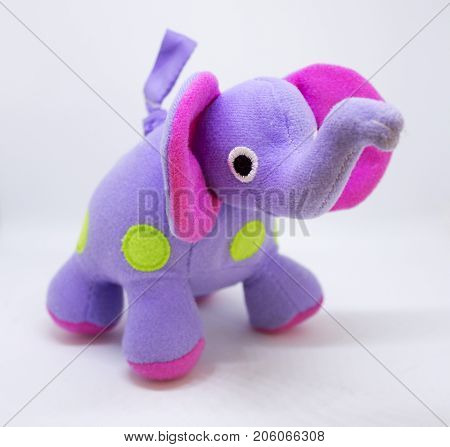 Small cute elephant toy for small baby