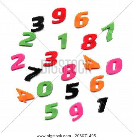 Plastic Toy Numbers