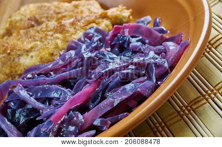 North Croatian Red Cabbage Stew