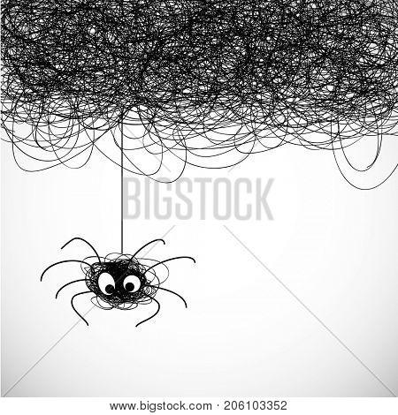 Little cute spider