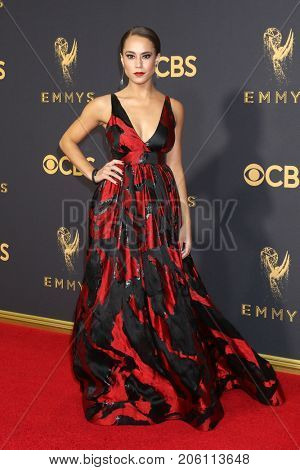 LOS ANGELES - SEP 17:  Alex Hudgens at the 69th Primetime Emmy Awards - Arrivals at the Microsoft Theater on September 17, 2017 in Los Angeles, CA
