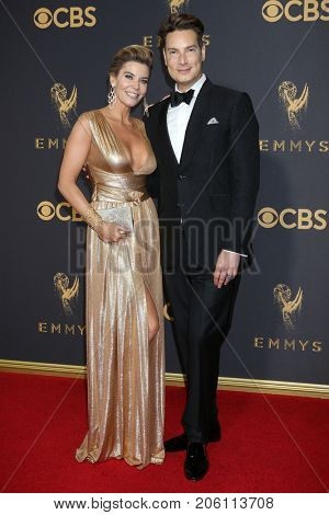 LOS ANGELES - SEP 17:  McKenzie Westmore, Cameron Silver at the 69th Primetime Emmy Awards - Arrivals at the Microsoft Theater on September 17, 2017 in Los Angeles, CA