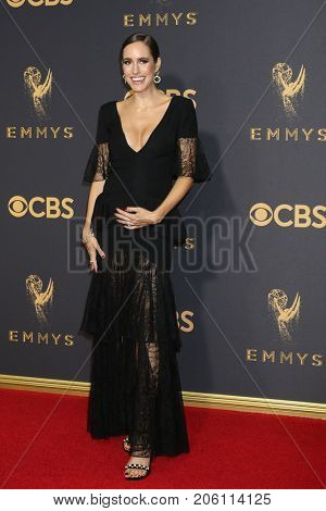 LOS ANGELES - SEP 17:  Louise Roe at the 69th Primetime Emmy Awards - Arrivals at the Microsoft Theater on September 17, 2017 in Los Angeles, CA