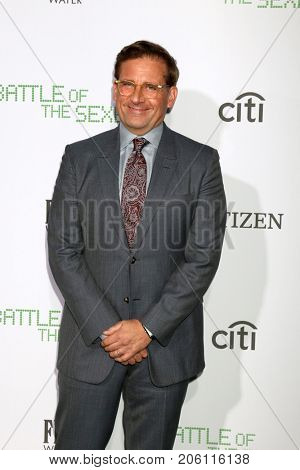 LOS ANGELES - SEP 16:  Steve Carell at the