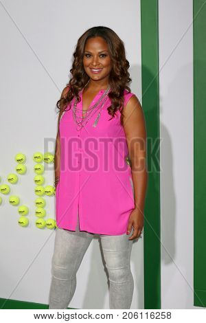 LOS ANGELES - SEP 16:  Laila Ali at the