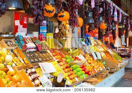 Food Market San Miguel, Madrid