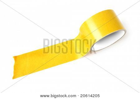 Close up of an adhesive tape