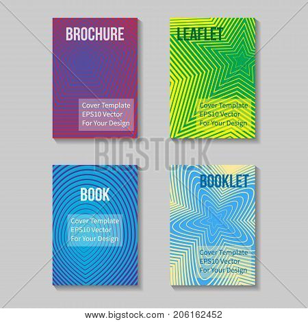 Book Title Page Template. Business Report Or Booklet Cover. Brochure Layout. Poster, Presentation Sheet. A4 Size. Leaflet, Flyer Mockup. Vector