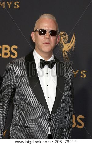 LOS ANGELES - SEP 17:  Ryan Murphy at the 69th Primetime Emmy Awards - Arrivals at the Microsoft Theater on September 17, 2017 in Los Angeles, CA