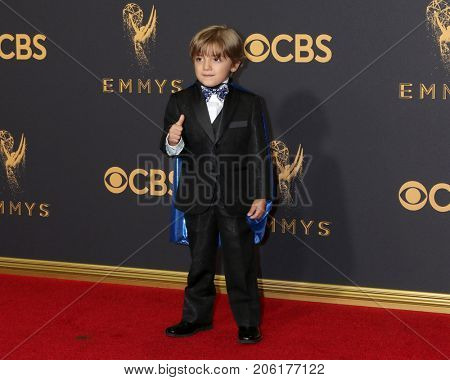 LOS ANGELES - SEP 17:  Jeremy Maguire at the 69th Primetime Emmy Awards - Arrivals at the Microsoft Theater on September 17, 2017 in Los Angeles, CA