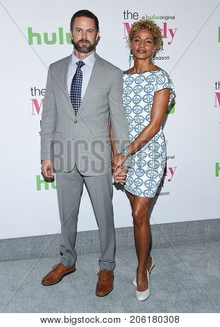 LOS ANGELES - SEP 12:  Garret Dillahunt and Michelle Hurd arrives for