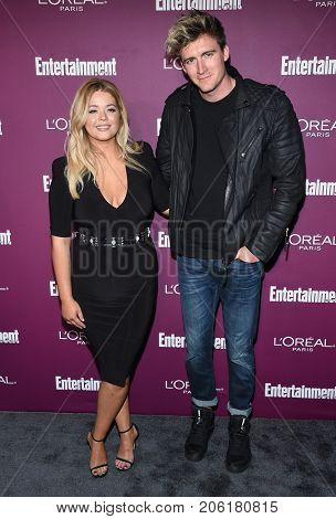 LOS ANGELES - SEP 15:  Sasha Pieterse arrives for the Entertainment Weekly Pre Emmy Party on September 15, 2017 in West Hollywood, CA
