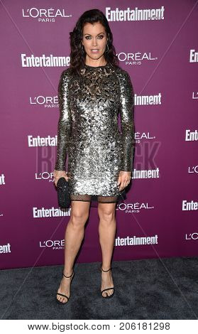 LOS ANGELES - SEP 15:  Bellamy Young arrives for the Entertainment Weekly Pre Emmy Party on September 15, 2017 in West Hollywood, CA