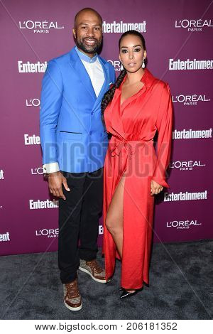 LOS ANGELES - SEP 15:  Derek Fisher arrives for the Entertainment Weekly Pre Emmy Party on September 15, 2017 in West Hollywood, CA