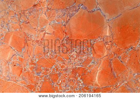 Orange Abstract Marble Background, High Res.