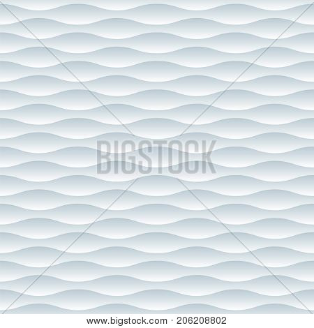 Seamless decorative white moulded light and shade relief pattern texture