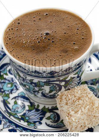 Turkish Coffee Close up