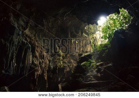 17 April 2017 cave named Phong Nha Ke Bang in the region of Phong Nha National Park, Vietnam