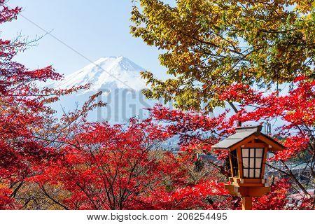 Autumn Fujisan