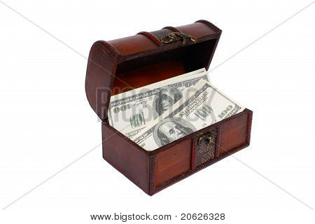 A Money In Chest