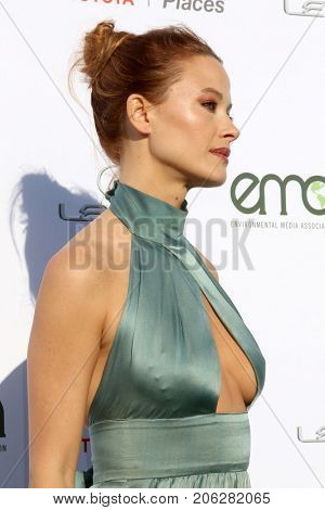 LOS ANGELES - SEP 23:  Scottie Thompson at the 27th Environmental Media Awards at the Barker Hangaer on September 23, 2017 in Santa Monica, CA